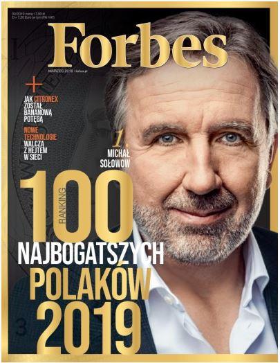 Prasa: Forbes 3/19