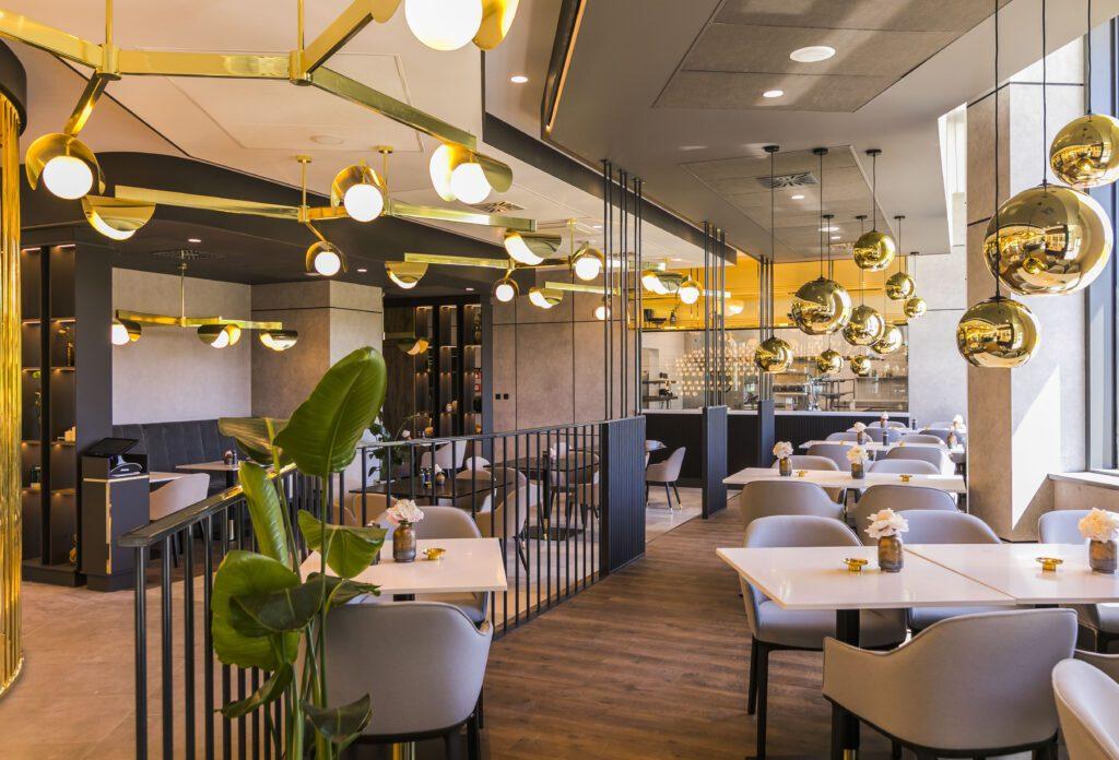 System sterowania oświetleniem Helvar dla hoteli i restauracji